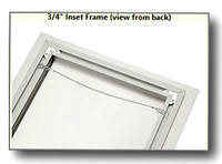 3/4-in Inset Frame