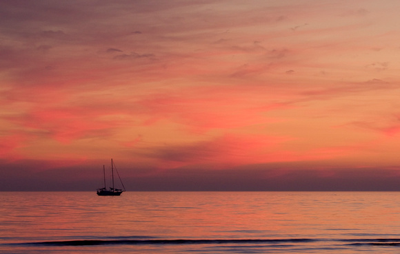 426-Sailboat at Sunset